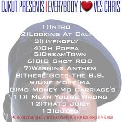 DJ Kut Everybody Loves Chris Back Cover