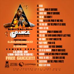 DJ Drama & OJ Da Juiceman Orange Back Cover