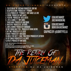 OJ Da Juiceman Return of Da Juiceman Back Cover