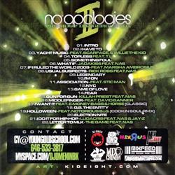 DJ Omen & Nas No Apologies Vol. 2 Back Cover