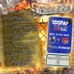 DJ Ophax Welcome To Tha Future Back Cover