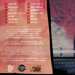 LRG & Outasight Never Say Never Back Cover