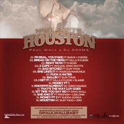 Paul Wall No Sleep Til Houston Back Cover