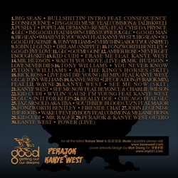 Perajok & Kanye West G.O.O.D. A*s Mixtape Back Cover