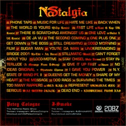 Petey Cologne & J-Smoke NAStalgia Back Cover