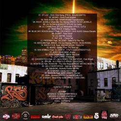 DJ Pimp Boss N Da Hood Back Cover
