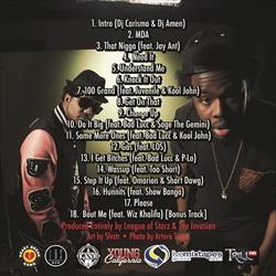 Problem & Iamsu! Million Dollar Afro Back Cover