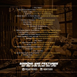Project Pat Cheez N Dope 2 Back Cover