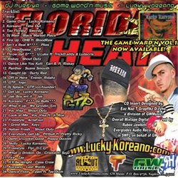 DJ Purfiya Florida Heat Vol. 1 Back Cover