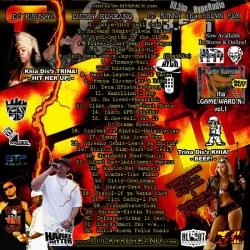DJ Purfiya Florida Heat Vol. 2 Back Cover