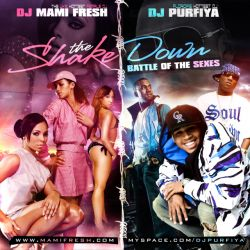 DJ Mami Fresh & DJ Purfiya The Shakedown 'Battle Of The Sexes' Front Cover