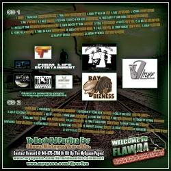 DJ Purfiya Welcome 2 Flawda Vol. 2 Disc 1 Back Cover