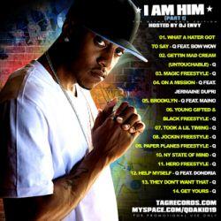 Q Da Kid I Am Him Back Cover