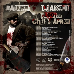 DJ Absolut & Raekwon Blood On Chef's Apron Back Cover