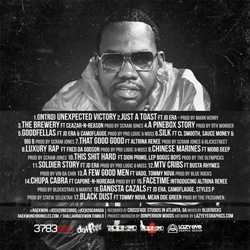 Raekwon Unexpected Victory Back Cover