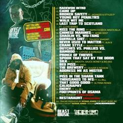 Raekwon & Scram Jones The Chef Vs The Beast Back Cover