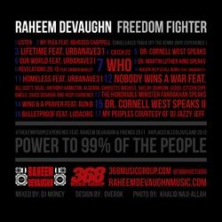 Raheem DeVaughn Freedom Fighter Back Cover