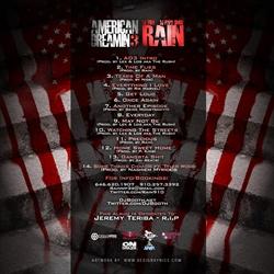 Rain American Dreamin 3 Back Cover
