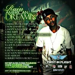 Rain American Dreamin Pt. 2 Back Cover