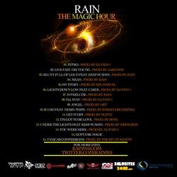 Rain The Magic Hour 3 Back Cover