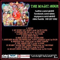 Rain The Magic Hour Back Cover