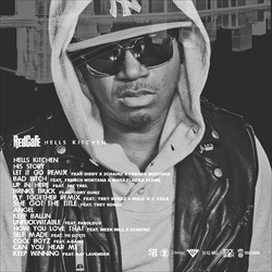 DJ Whoo Kid, Ill Will & Red Cafe Hells Kitchen Back Cover