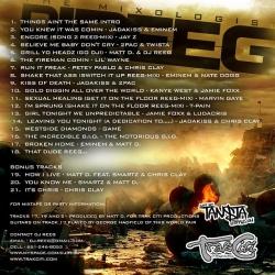 DJ Reeg Check The Blend 2 Back Cover
