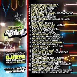 DJ Reeg Check The Blend 3 Back Cover
