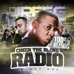 DJ Reeg Check The Blend Radio Vol. 1 Front Cover