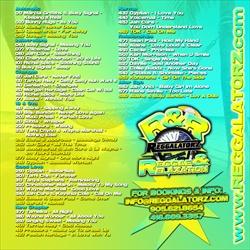 Reggalatorz Reggae & Relaxation Back Cover