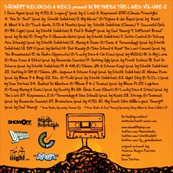 Reks In Between The Lines Vol. 2 (Mixtape) Back Cover