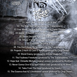 DJ Rhude Nas: The Found Tapes Back Cover