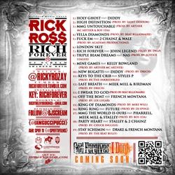 Rick Ross Rich Forever Back Cover