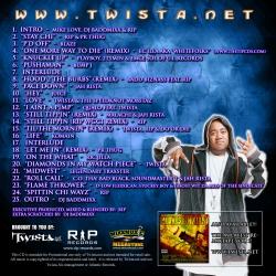 Twista.net The Midwest ReMixtape Vol. 2 Back Cover