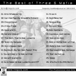 DJ RNS The Best of Three 6 Mafia Chapter 1 Back Cover