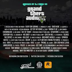 Rockstar Grand Theft Audio V Back Cover