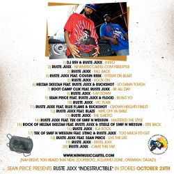 Ruste Juxx Indestructable 'The Prelude' Back Cover