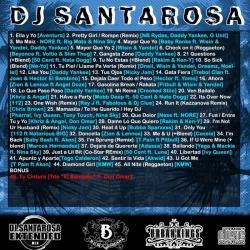 DJ Santarosa Reggaeton Vs. Hip-Hop Back Cover