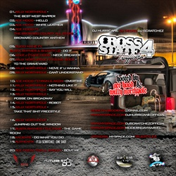 DJ Scratchez Cross State Traffickin Vol. 4 Back Cover