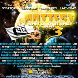 DJ Scratchez, DJ Hurricane, DJ Omega Red & DJ Laz Vegaz Hottest Sh*t Under The Sun 3 Back Cover