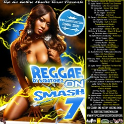 DJ Scratchez Reggae On Smash 7 Back Cover