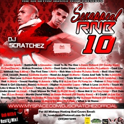 DJ Scratchez Sex Appeal RNB 10 Back Cover