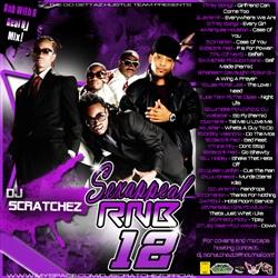 DJ Scratchez Sex Appeal RNB 12 Back Cover