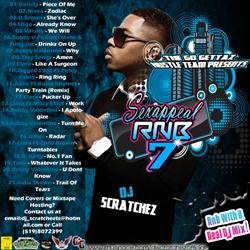 DJ Scratchez Sex Appeal RNB 7 Back Cover