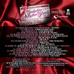 DJ Scream & DJ Sense So Seductive Meets Rhythm & Streets 2 (Valentine's Day 2K12) Back Cover