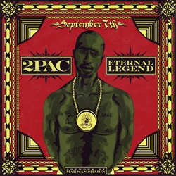 September 7th 2Pac: Eternal Legend Front Cover