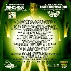 DJ Set It Off & DJ Simonsez Dungeon Immortal The Thug Below Back Cover