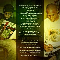 Sha Stimuli & DJ Victorious Hotter Than July (A Tribute To Stevie Wonder) Back Cover
