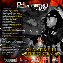 Superstar Jay & Sha Stimuli The Funeral Back Cover