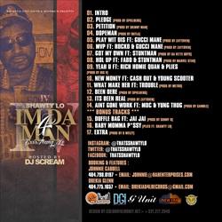 DJ Scream & Shawty Lo I'm Da Man Back Cover